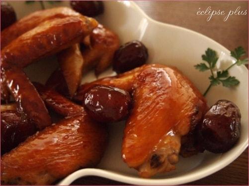 鶏手羽のなつめ煮
