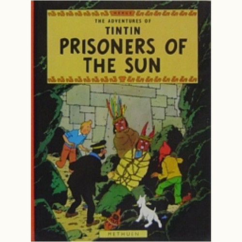 PRISONERS OF THE SUN THE ADVENTURES OF TINTIN