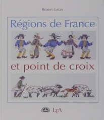 Regions de France et point de croix