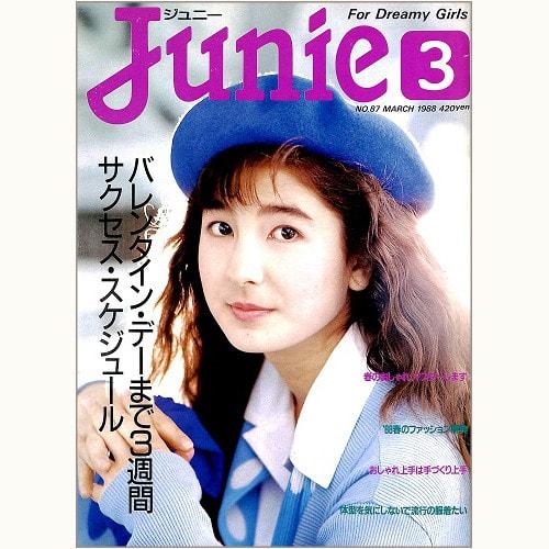 Junie ジュニー No.87 バレンタイン・デーまで3週間 サクセス・スケジュール