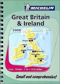 MICHELIN Great Britain & Ireland 2008  Small & comprehensive !
