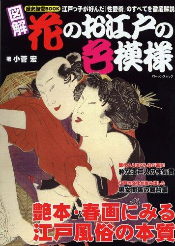 歴史雑学BOOK 図解 花のお江戸の色模様 小菅宏 *著
