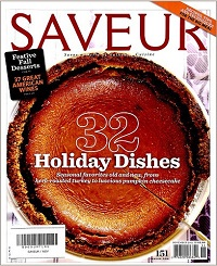 SAVEUR No.151 32 Holiday Dishes