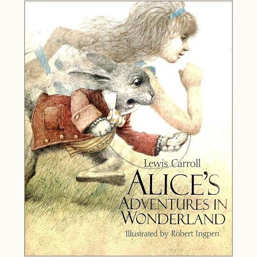 alice s adventures in wonderland robert ingpenさん イラスト
